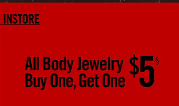 ALL BODY JEWELRY BOGO $5§