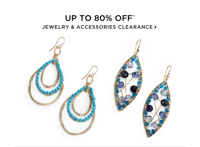 Up To 80% Off* Jewelry & Accessories Clearance