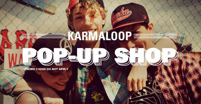 Click to shop the Karmaloop Pop Up Shop