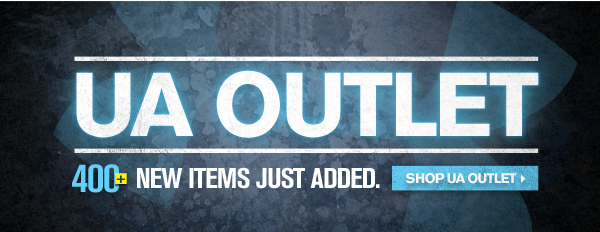 UA OUTLET - 400 NEW ITEMS JUST ADDED. - SHOP UA OUTLET