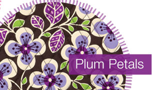 For 2 days, online only, save 50% on everything in Plum Petals