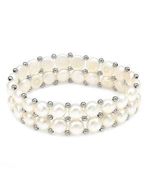 Ladies Freshwater Pearl Bracelet