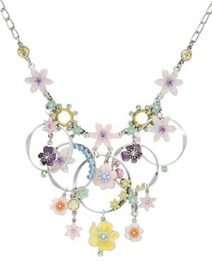 PILGRIM SKANDERBORG, DENMARK Ladies Crystal Necklace