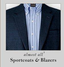 65% OFF* - Sportcoats & Blazers