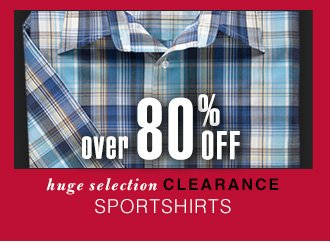 Over 80% OFF - Clearance Sportshirts