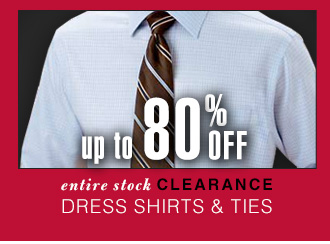 Up To 80% OFF - Clearance Dress Shirts & Ties