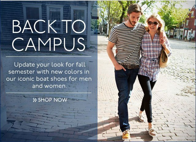 Back To Campus Shop Now