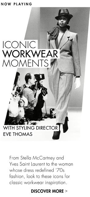 TOP 5 ICONIC WORKWEAR MOMENTS
