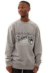 The Oakland Raiders Crewneck Sweatshirt in Grey