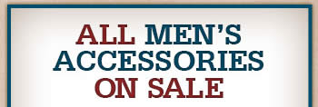 All Mens Accessories on Sale
