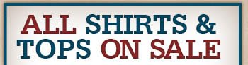 All Shirts and Tops on Sale