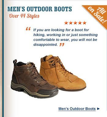 All Mens Outdoor Boots on Sale