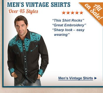 All Mens Vintage Shirts on Sale