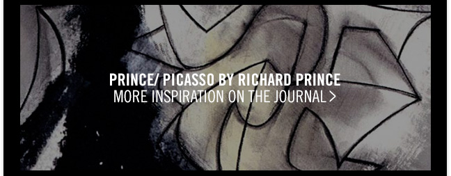 PRINCE/ PICASSO BY RICHARD PRINCE - MORE INSPIRATION ON THE JOURNAL >