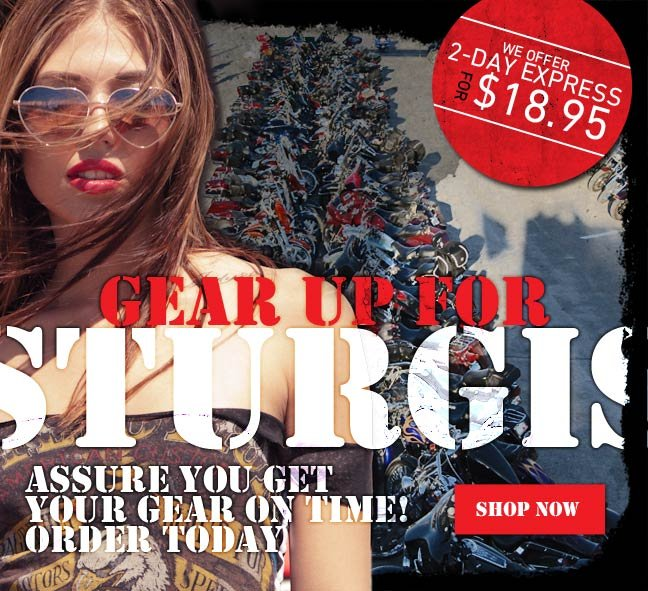 Get Your Affliction Gear before Sturgis!