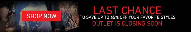 Last Chance To Save Up To 65% Off Your Favorite Styles