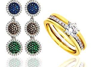 Earrings & Rings Below $79
