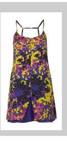 Camouflage Printed Slip Dress