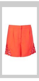 Crochet Detail Shorts