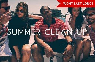 Summer Clean Up: Wont Last Long