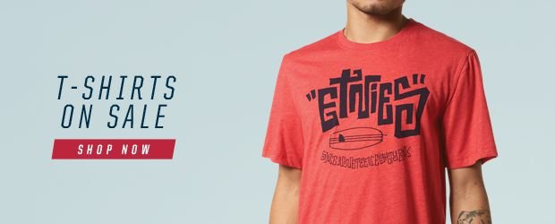 Shop etnies Tees on Sale