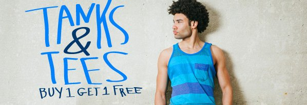 Tank & Tee Clearance from $10