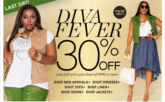 Shop Diva Fever 30% Off