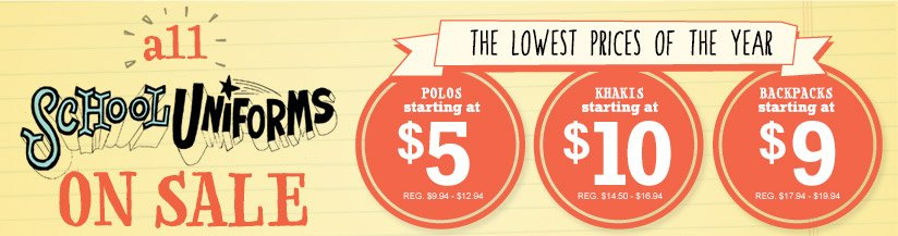 all SCHOOL UNIFORMS ON SALE | THE LOWEST PRICES OF THE YEAR
