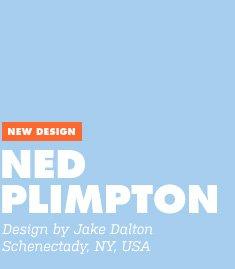 New Design - Ned Plimpton - Design by Jake Dalton / Schenectady, NY, USA