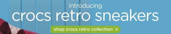 introducing crocs retro sneakers - shop crocs retro collection