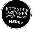 Edit your designer preferences
