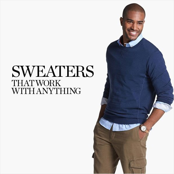 SWEATERS THAT WORK WITH ANYTHING