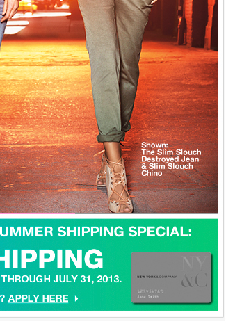 Summer's Hot List continues, plus FREE SHIPPING!