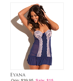 Eyana lingerie set