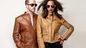 Leather Jackets featuring Whet Blu