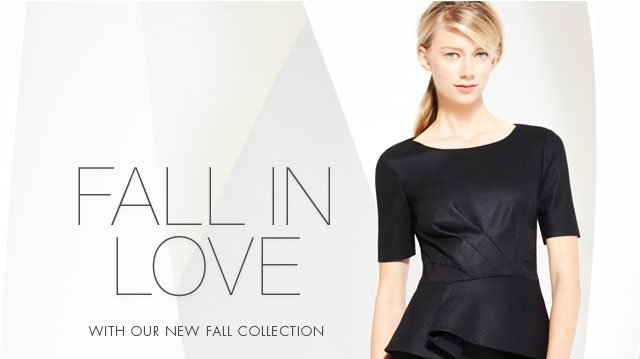 Fall In Love With Our New Fall Collection