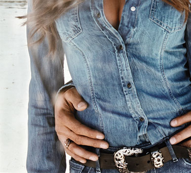 Women's Denim Shirts and Jackets