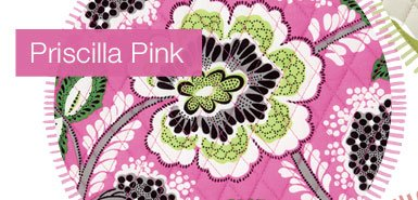 Final day, online only, save 50% on everything in Priscilla Pink