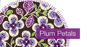 Final day, online only, save 50% on everything in Plum Petals