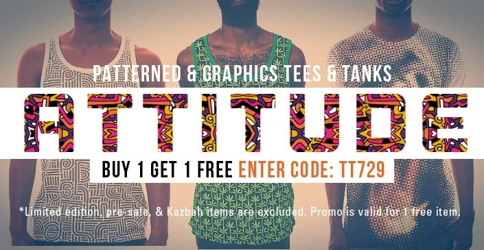 Patterned & Graphic Tees and Tanks