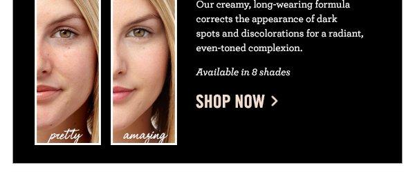 Correct dark spots & discoloration