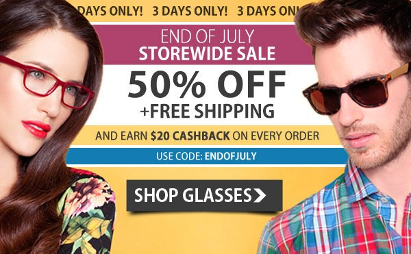 50% Off + Free Shipping - Storewide Sale!