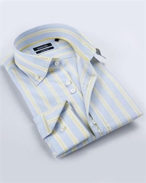Georges Rech Striped Collared Shirt