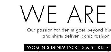 Women's Denim Shirts and Jackets