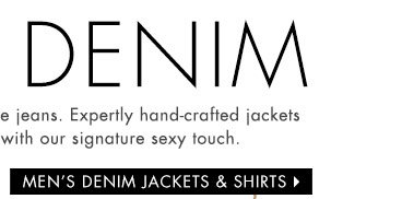 Men's Denim Shirts and Jackets
