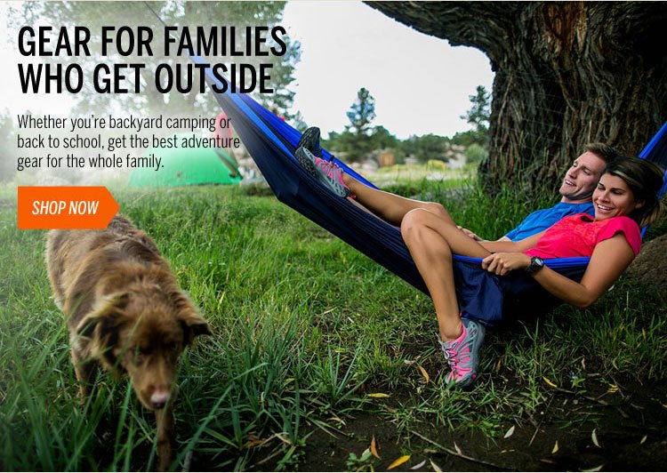 Gear for Families Who Get Outside