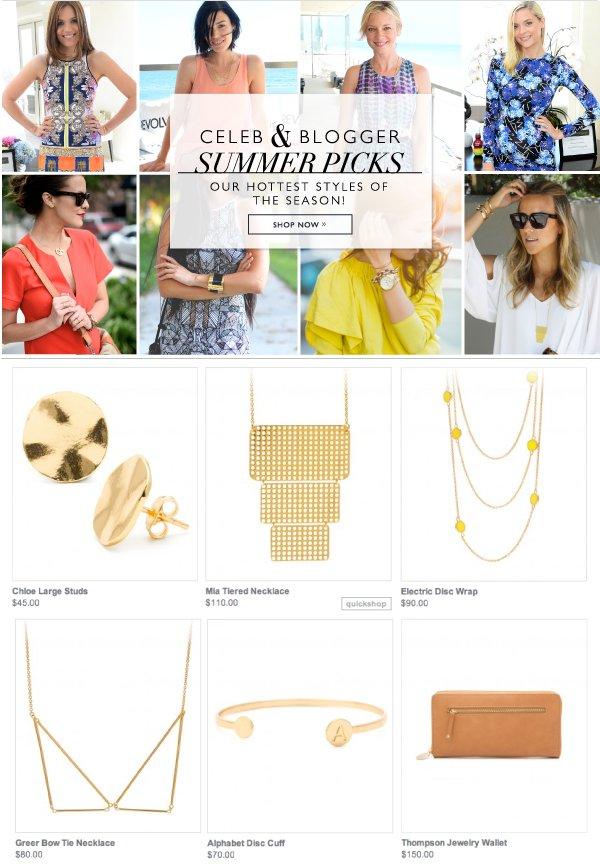 Celeb & Blogger Summer Picks
