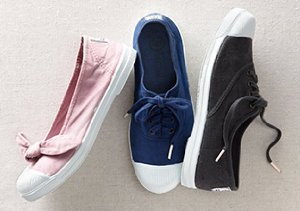 Well-Traveled Sneakers: Bensimon & More
