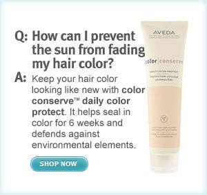 color conserve daily color  protect. shop now.
