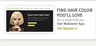 find hair color you'll love.  get started.